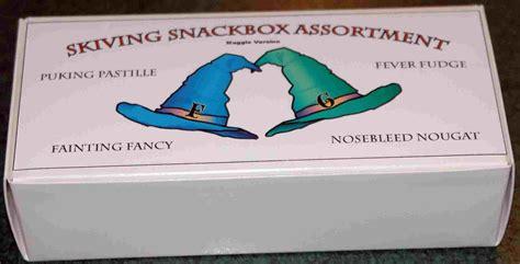 skiving snackbox  leaky cauldronorg  leaky