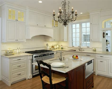 traditional white kitchen houzz