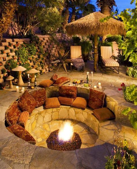 Garten Gestalten Feuerstelle by Sitzplatz Mit Feuerstelle Im Garten 50 Tipps Und Ideen