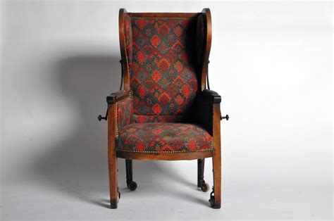 reclining cing chairs reclining wingback chair at 1stdibs