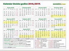 Nacrt Odluke o početku i završetku nastavne godine, broju