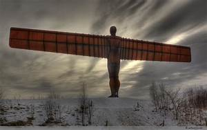 Angel of the North @ Gateshead, United Kingdom | softwerkz.net
