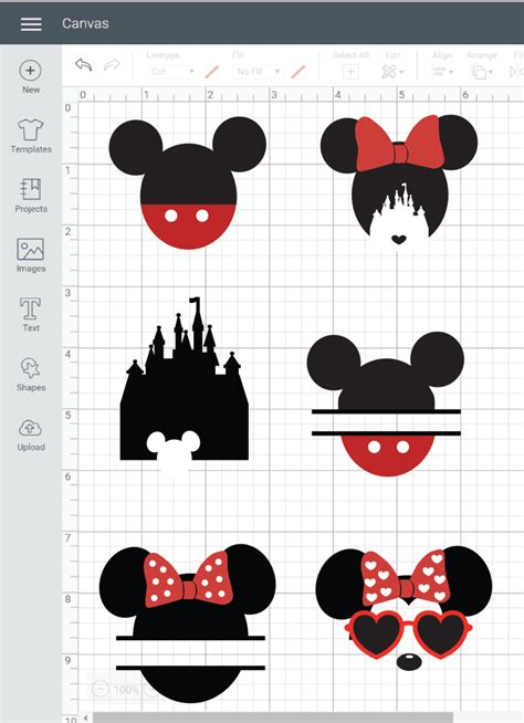 I was looking around online for some disney inspired cut files and i realized i could just make this within cricut design space for free. Free Disney SVG Files - DOMESTIC HEIGHTS