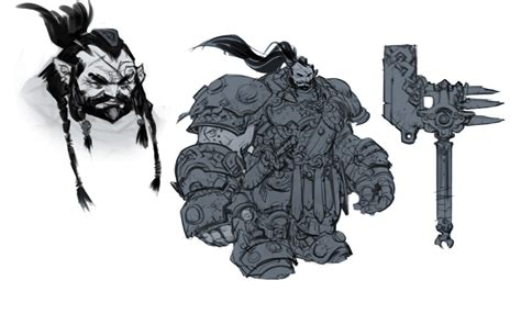 Darksiders 2 Artwork by Maker Warrior Video Games Artwork