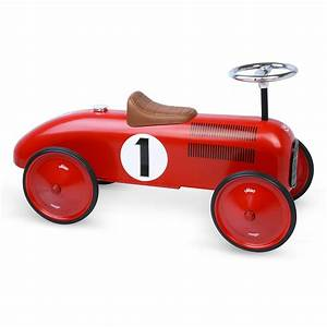 Voiture Enfant Vintage : porteur voiture vintage rouge vilac pour chambre enfant ~ Teatrodelosmanantiales.com Idées de Décoration