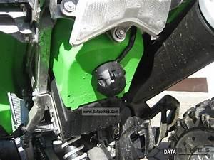 2010 Kawasaki Kfx 450 Zumaschinenzulassung Lime