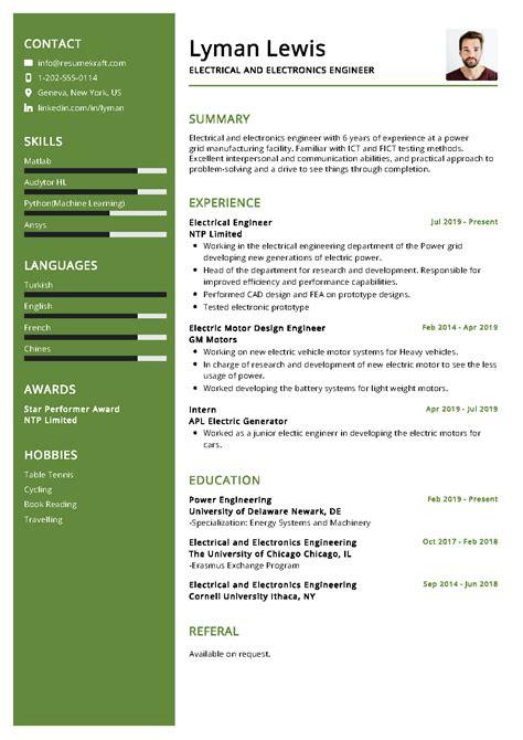 electrical engineer resume sample   resumekraft