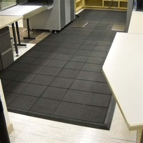 rubber flooring tiles kitchen quot revolution quot interlocking flooring tiles 4933