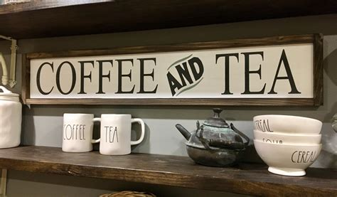 coffee signs for kitchen coffee and tea sign coffee bar signs kitchen signs tea