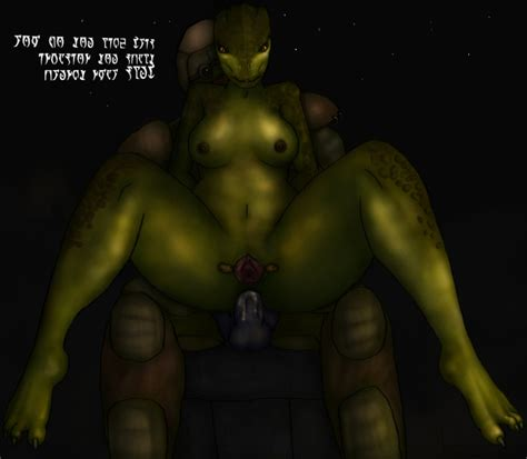 rule 34 anal argonian barefoot breasts cum cum in ass dunmer feet green skin hs2 morrowind