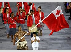 Who was that shirtless Tonga flagbearer at the Olympics