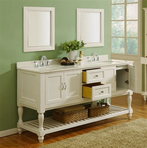 70 quot pearl white mission bathroom vanity sink