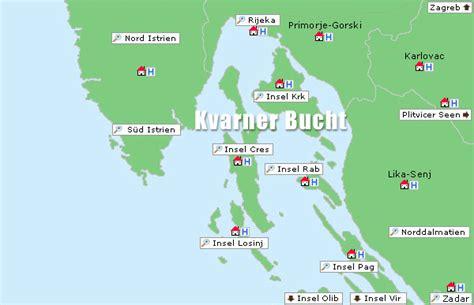 kvarner bucht kroatien inseln urlaub ferienwohnungen