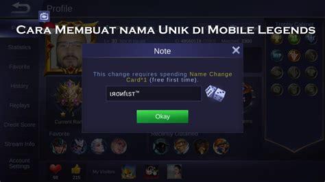 nama squad mobile legend keren nama squad keren ml dan logo