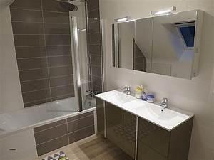 bton cir sur carrelage salle de bain beton cire sur With porte de douche coulissante avec beton cire mercadier dans salle de bain renovation carrelage