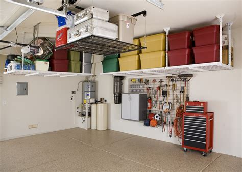 monkey bars garage floor 4 garage shelving ideas you t thought about