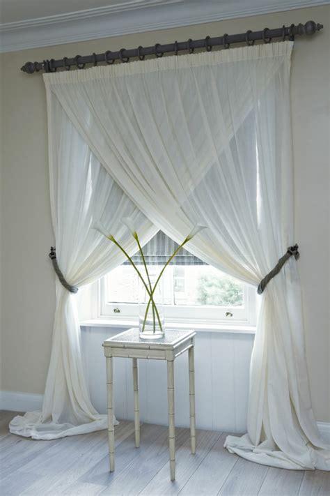 chambre avec meuble blanc le rideau voilage dans 41 photos