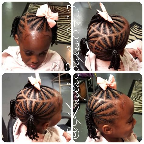 Image may contain: 1 person Braids for kids Kids hairstyles