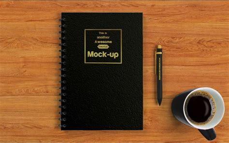 notebook mockup psd templates   premium