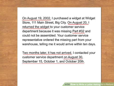 The Easiest Way to Write a Letter Asking for a Refund
