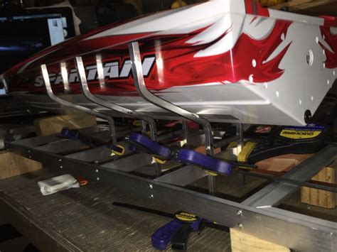 Rc Model Boat Trailers by Building A Custom Ordered Spartan Boat Trailer