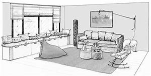 Dessin Intérieur Maison : dessin int rieur maison croquis dessin maison interieur ~ Preciouscoupons.com Idées de Décoration