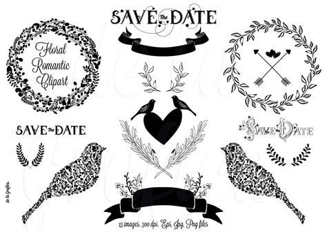 romantic wedding cliparts  clip art