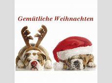 Weihnachtspostkarte Gemütliche Weihnachten