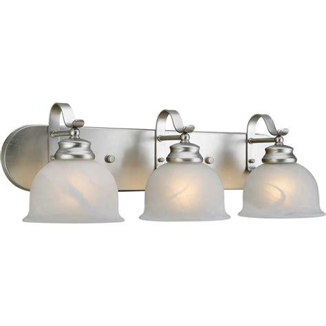 shop  light shandy brushed nickel bathroom vanity light