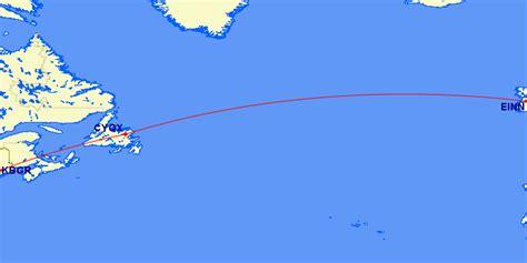 Atlantic Ferry Flight Routes