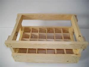 Casier à Bouteilles En Bois : casier bois ~ Teatrodelosmanantiales.com Idées de Décoration