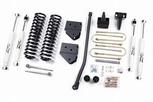 Zone Offroad 4 U0026quot  Coil Springs And Bracket Kit 2005