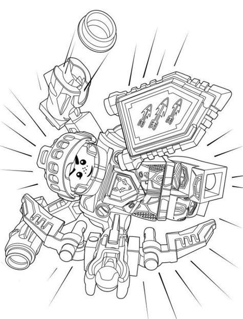 Kleurplaat Lego Nexoknights by N Kleurplaat Lego Nexo Knights Lego Nexo Knights 7