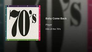 Baby Come Back - YouTube
