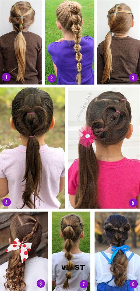 Easy Girls Hairstyles For Toddlers Tweens &Girls