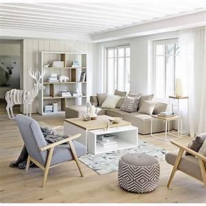 Scandinavische Style Zelf Met Een Hert In De Woonkamer