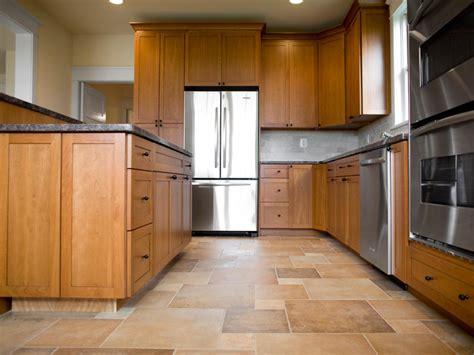 choose   flooring   kitchen hgtv