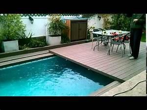 Piscina y terraza YouTube