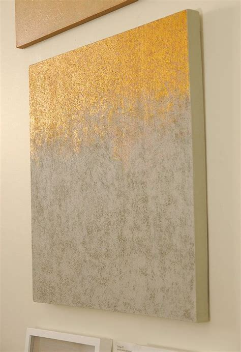 cream and gold abstract art abstract painting neutral