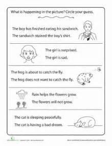 Comprehension Worksheets For Grade 6 Free Inferences Worksheet Education Com