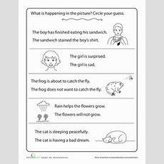 Making Inferences  Worksheet Educationcom