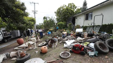 Search under elderly mother's house for remains of son not ...