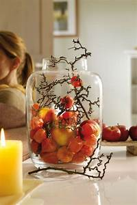Einfache Herbstdeko Tisch : die besten 25 kerzen dekorieren ideen auf pinterest kerze kunst diy kerzen und kerzen deko ~ Markanthonyermac.com Haus und Dekorationen