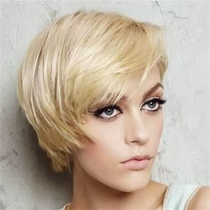 Coupe Femme Courte Blonde : coupe courte blonde ~ Carolinahurricanesstore.com Idées de Décoration