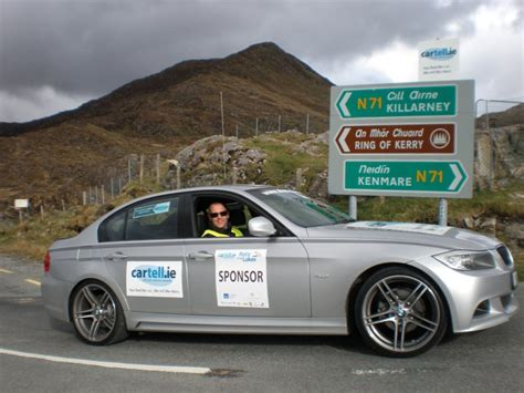 Bmw Handles The Style At Cartell.ie International Rally Of