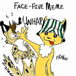 Face-Five Meme by lordvipes on deviantART