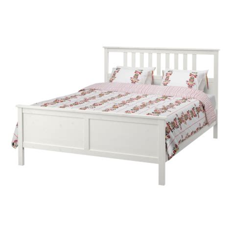 hemnes bed frame king l 246 nset ikea