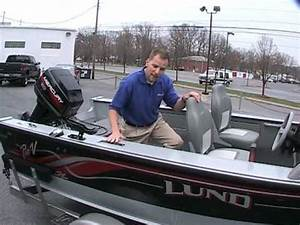1999 Lund Pro V 1660SE at Peters Marine Service - YouTube