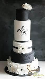 black and white wedding cake black and white wedding theme wedding ideas by colour chwv