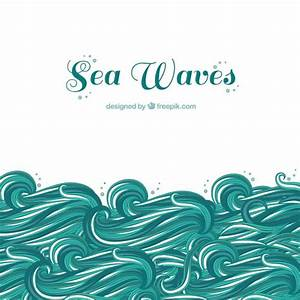 Sea waves Vector | Free Download